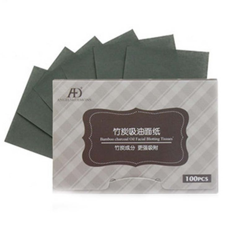 Set of 2 Oil Control Paper Charcoal Oil Blotting Paper(100 Pcs). Size:11*10 cm One set include 100 pieces blotting paper. Color:Multicolor. Material:Linen paper. Soft and gentle to the skin, easily absorbing excess oil and sweat. Softly and gently absorbs excess moisture and oil from the skins surface.