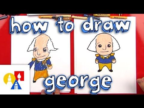 How To Draw A Cartoon George Washington - Art for Kids Hub