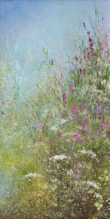 Amanda Hoskin - Foxgloves and Cowslips