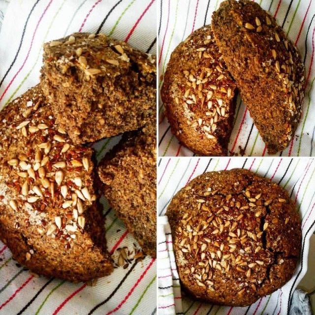 bezlepkový chléb ze semínek