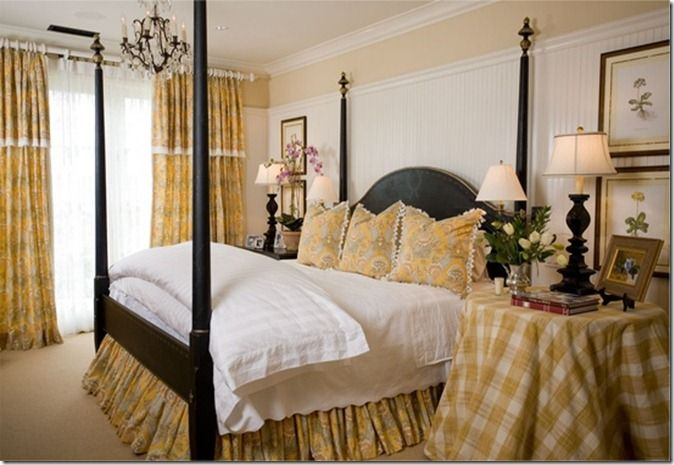 French Country Cottage Decor   Favorite Pins Friday {Bedroom Inspiration} - Our Southern Home I like this bedside table