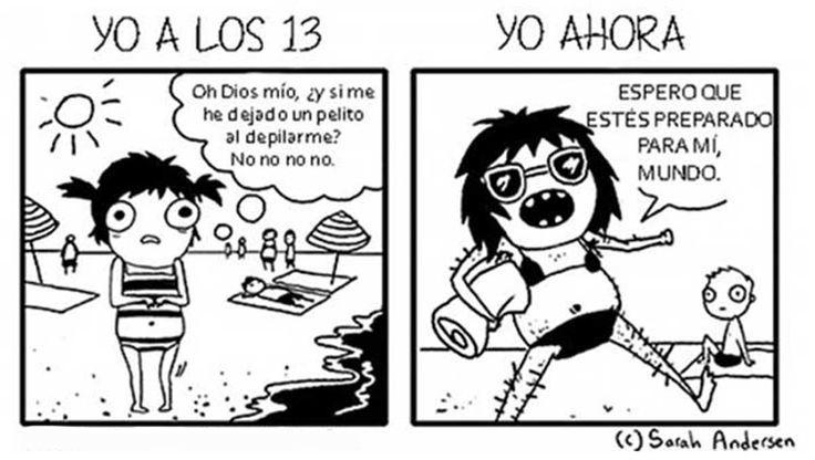 21 problemas y situaciones diarias que viven las mujeres en unos divertidos comics