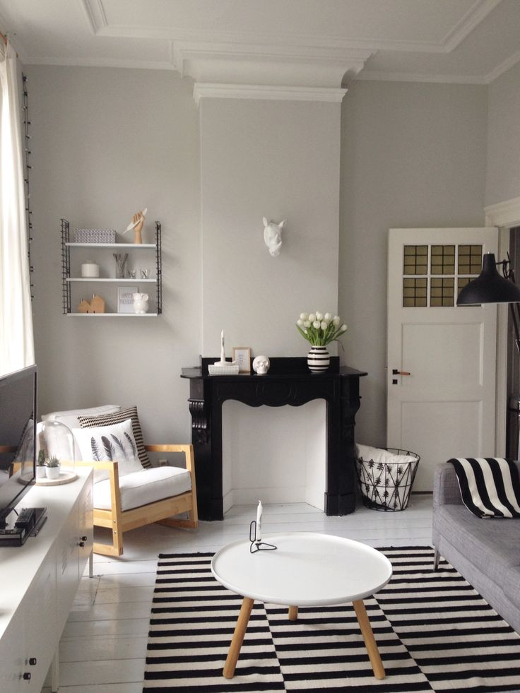 chimney breast / fireplace - painting options