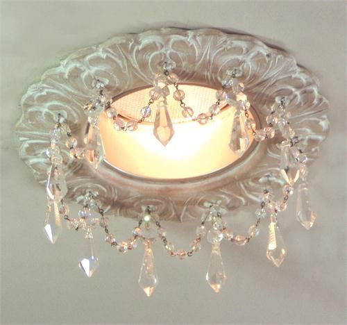 """Recessed Lighting from Beaux-Artes, Model: 5"""" Florentine Recessed Chandelier"""