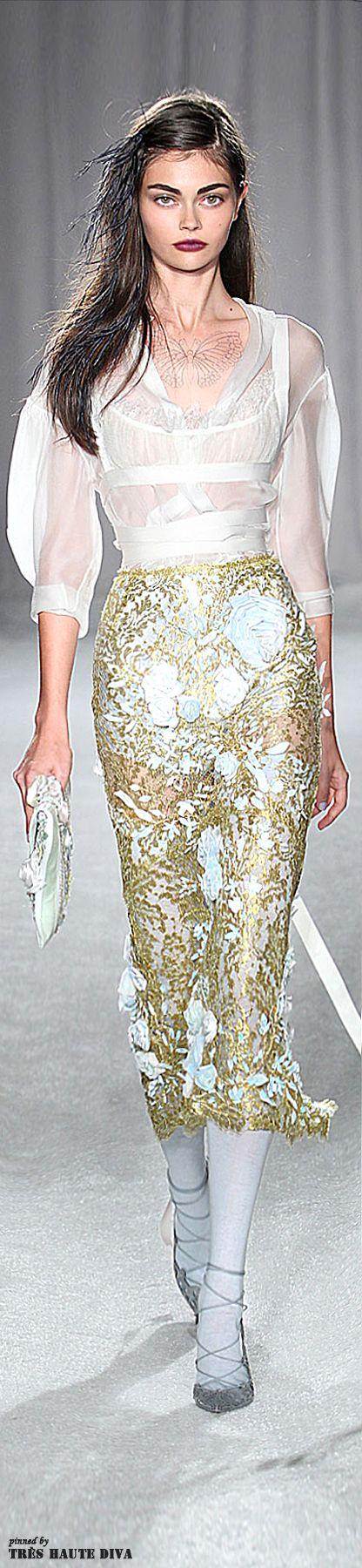 Marchesa Spring/Summer 2014 - New York Fashion Week -Runway