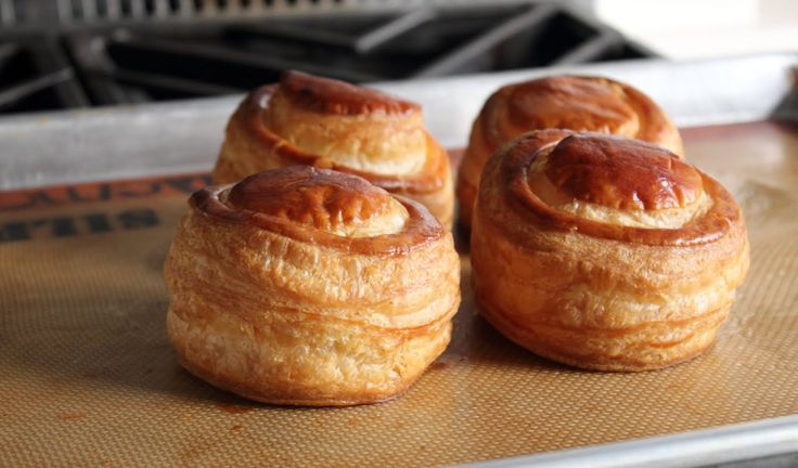 Puff Pastry Shells (Vol au Vents) - How to Make Puff Pastry Cups for Fil...