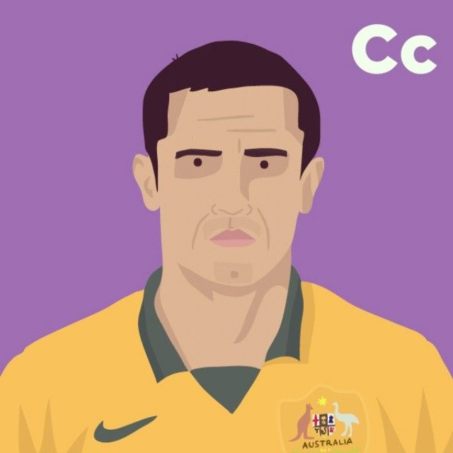 C is for Tim Cahill. #tpitr #worldcupaz #atoz