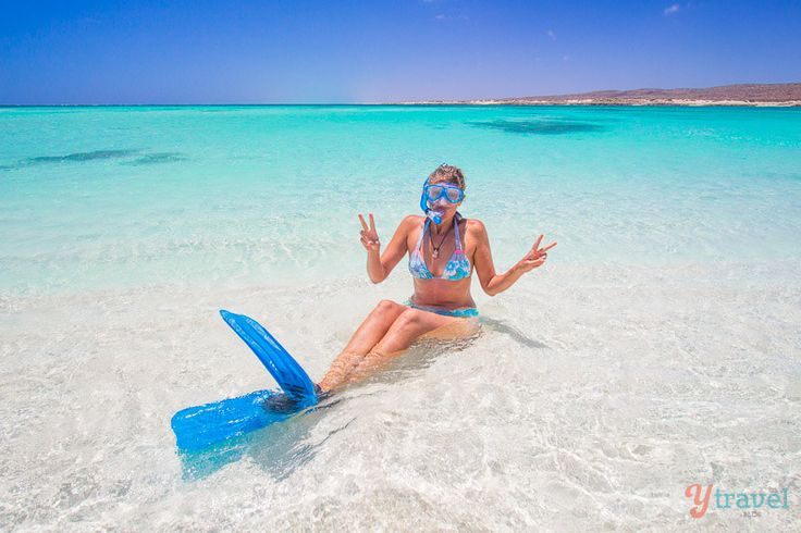 Go snorkeling at Turquoise Bay on the Ningaloo Reef in Western Australia