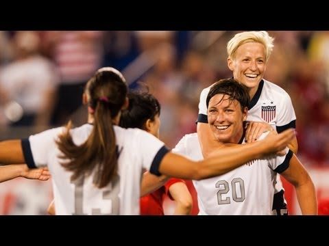 USA women's soccer team vs. Korea Republic: Highlights - June 20, 2013 -- Abby Wambach becomes new scoring record-holder