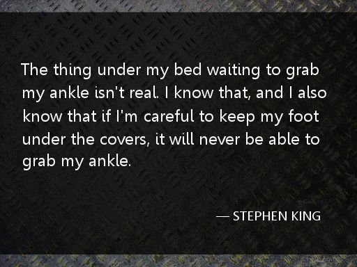 Some Stephen King quotes for your entertainment. - Imgur