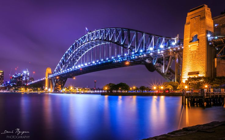 Habour Bridge - One more shot in Milson point ! It's shot in sunset when the light had just come up. The weather was not as good as expected, but not so bad that nice shot could not be found...