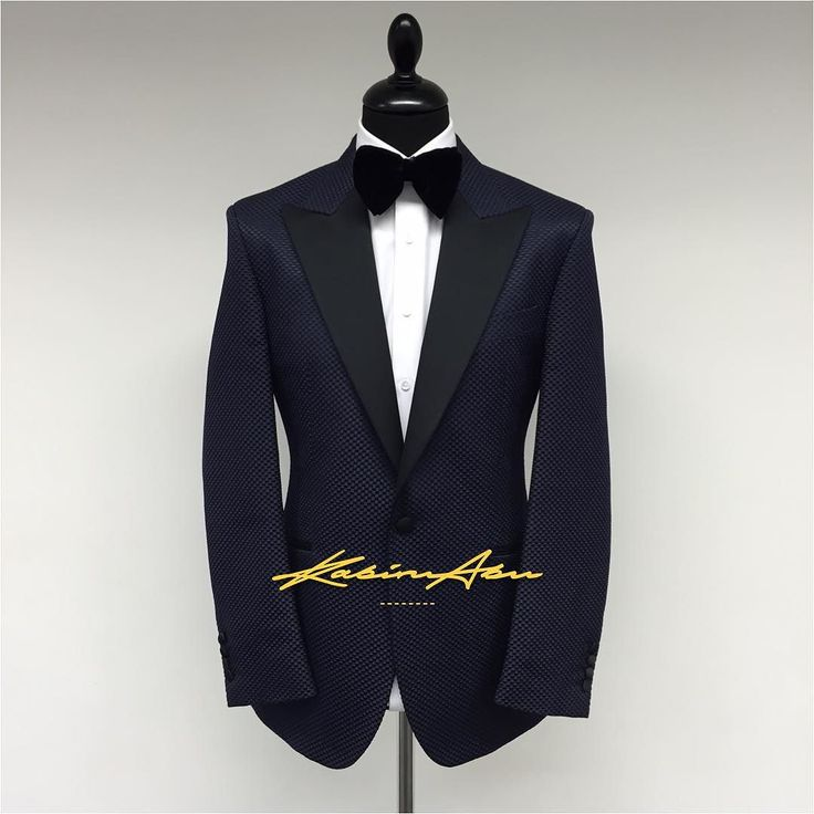 K E N T - M I D N I G H T  The Kent Midnight Blue Silk Tux  #KabiruAbu #Bespoke #Savilerow #tailored #suit #tuxedo #wedding #midnight #groom #groomsuit #groominspiration #weddingsuit #navy #classic #custom #luxury #velvet #bowtie #dapper #gentleman #bestdressed #bestofbritish by kabiruabu