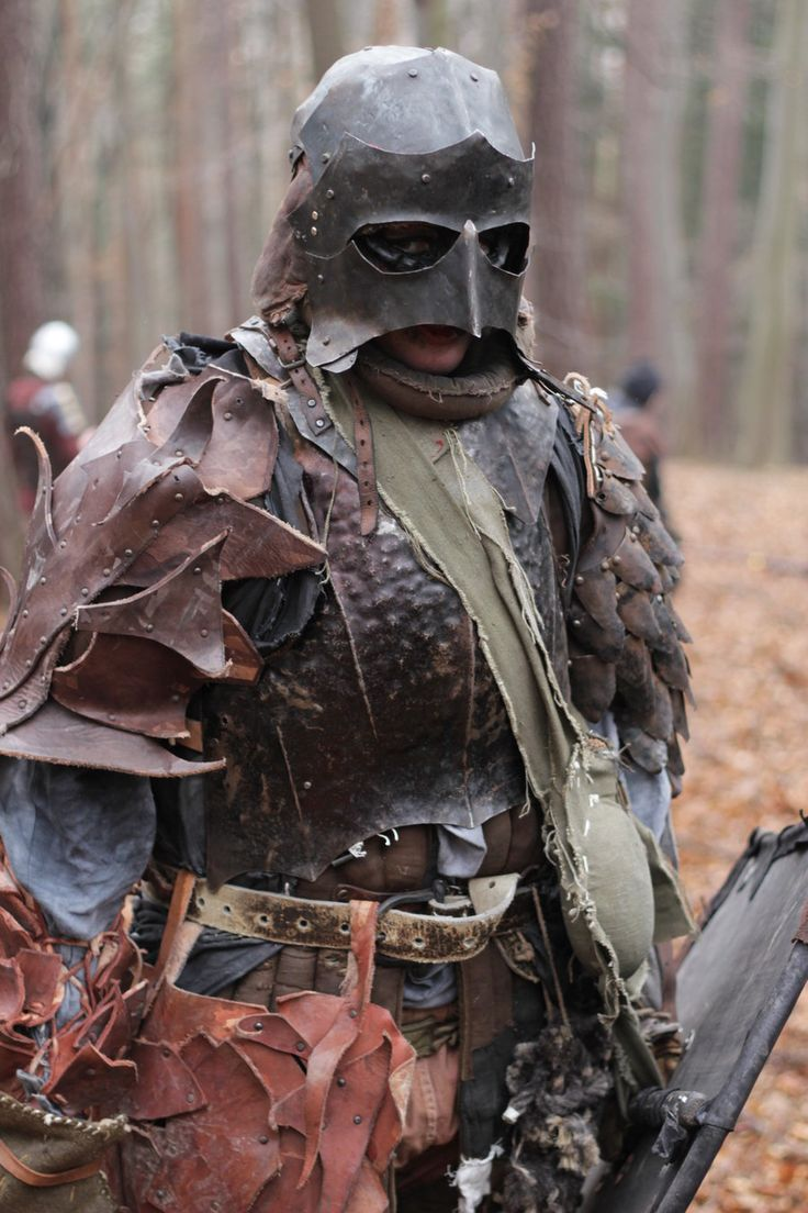 cosplayroyalty:    larpgirl:    Another ork by ~Gadyn  So the longer I blog, the more I think I am just in love with the people who larp as orcs in czech, They are all so awesome and the best part is that most of them make most of all their own gear. <3    with that Pink Chin, I think this might be an infiltrator (or the make up wore off).
