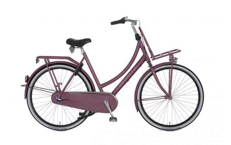 Rower Miejski Damski Cortina U4 Transport N3. Model dla kobiet, które cenią sobie w rowerze zarówno modną stylistykę jak i użyteczność. Oprócz wysokiej jakości osprzętu model ten posiada opony z paskiem odblaskowym.  http://damelo.pl/damskie-rowery-miejskie-rekreacyjne/789-rower-miejski-damski-cortina-roots-transport-n7.html