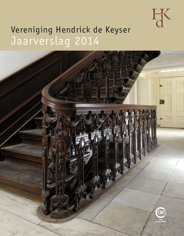Cover annual report Vereniging Hendrick de Keyser