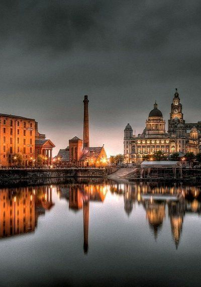 Salthouse Dock ~ Liverpool, England (Photography by Gary McGhee)