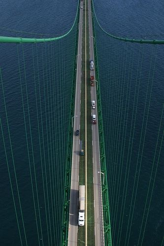 The Mackinac Bridge, Michigan