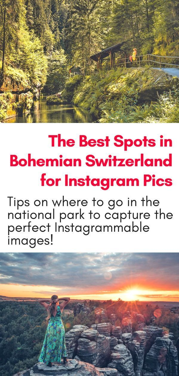 4 Best Spots For Instagram Pictures In Bohemian Switzerland Northern Hikes Day Trips From Prague Hiking Europe Instagram Pictures