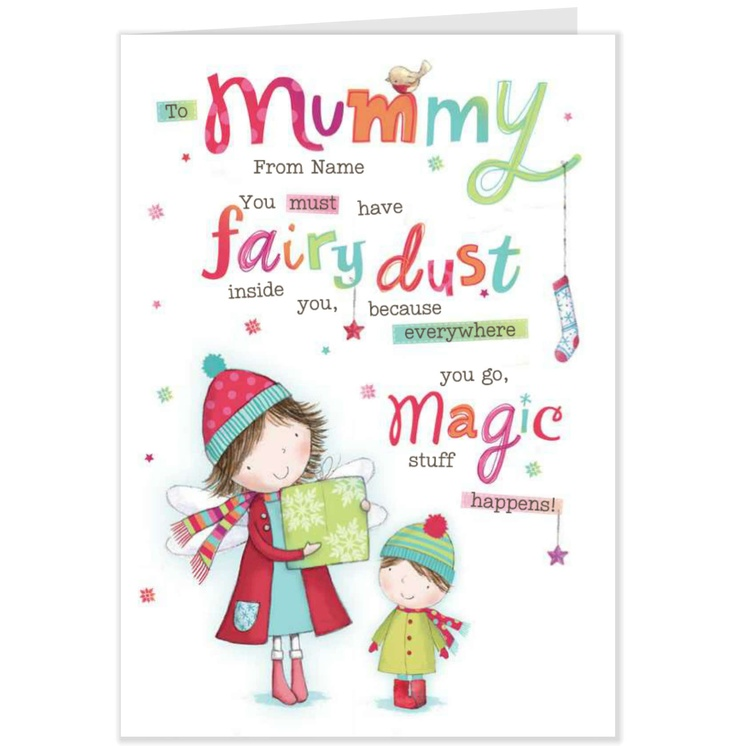For My Mummy Christmas Card-Hallmark UK