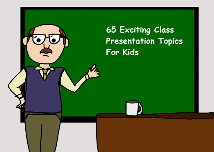If you're looking for class presentation topics for kids of various ages to include in your lesson plan, refer to this list of 65 exciting subject matters.