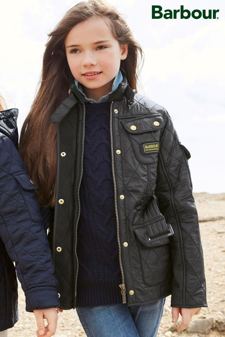 Buy Barbour® Quilt International Black Jacket from the Next UK online shop