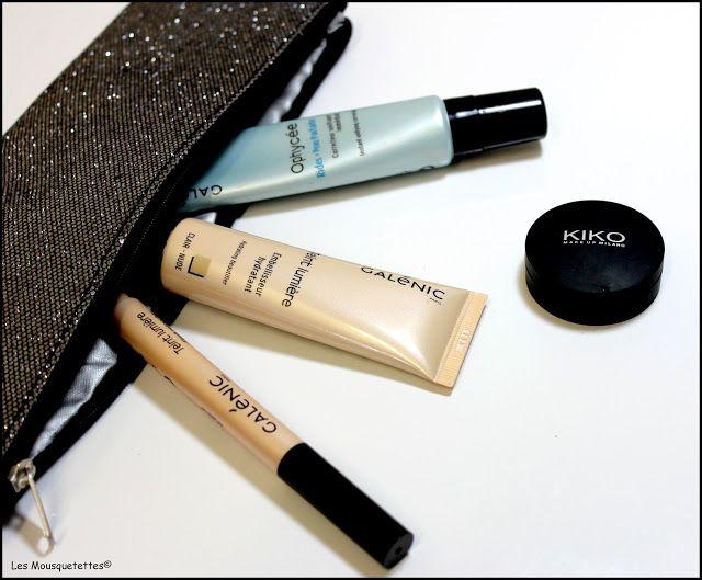 Gamme maquillage Galénic Teint Lumière et Ophycée ainsi que Kiko - Blog beauté Les Mousquetettes©