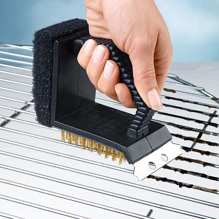 Kartáč na grily 3 v 1 | Magnet 3Pagen #magnet3pagen #magnet3pagen_cz #magnet3pagencz #3pagen #grilovani