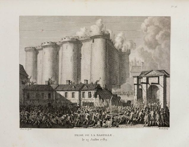 Fall of the Bastille, 14 July 1789