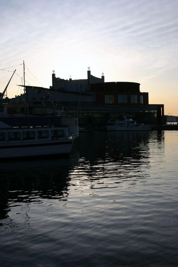 geteborg opera swym kształem przypomina statek
