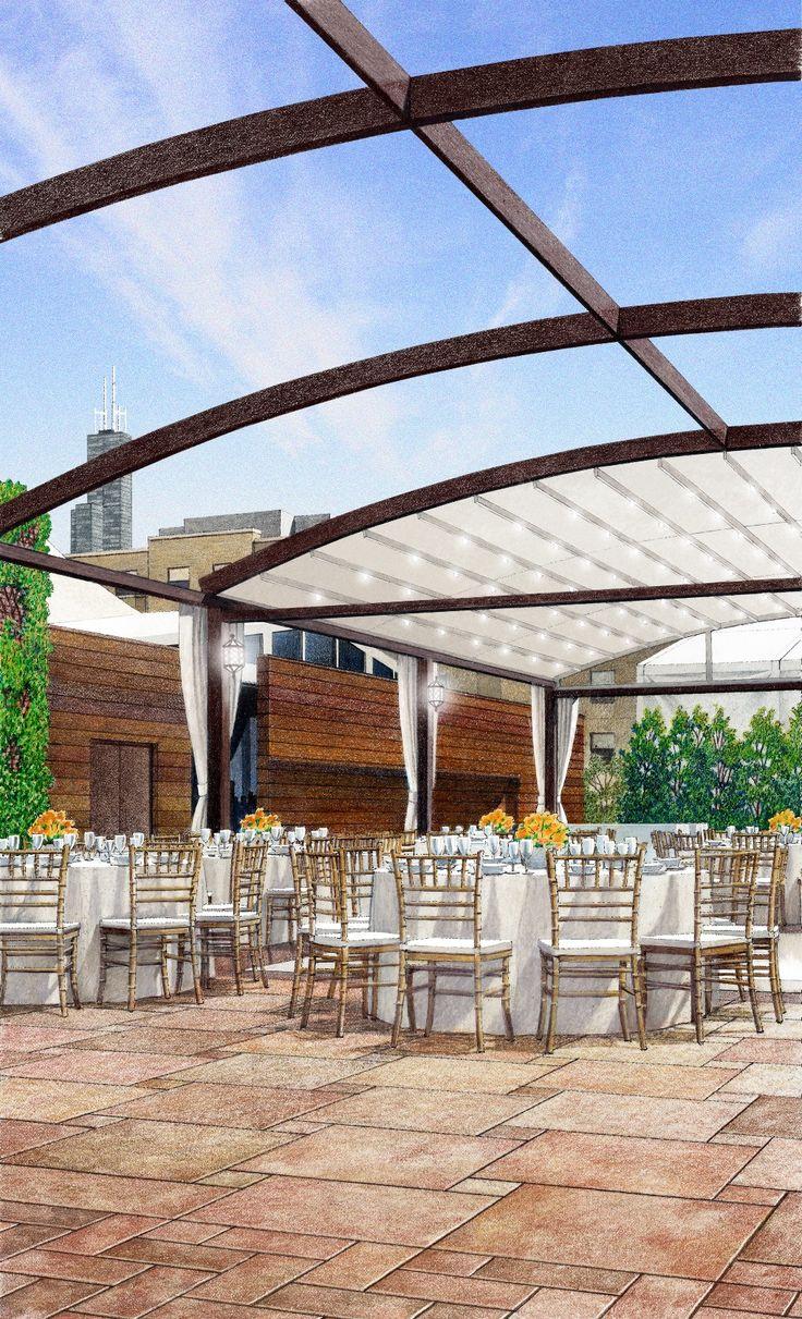 The venue - La Pergola at Galleria Marchetti   Wedding ...