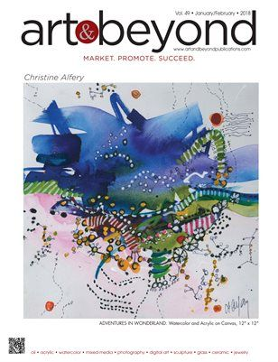Art & Beyond January/February 2018, Now available for purchase  from MagCloud