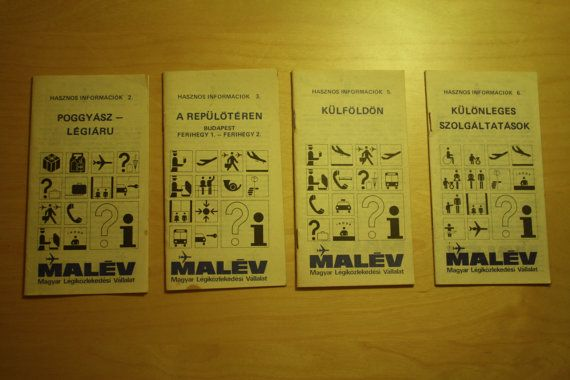 Check out this item in my Etsy shop https://www.etsy.com/listing/287416219/malev-useful-information-booklet