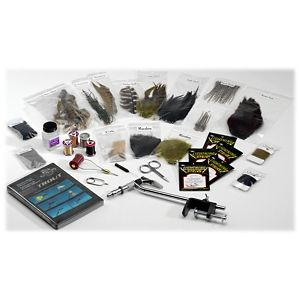 White River Fly Shop Deluxe Fly Tying Kit - Trout Tying