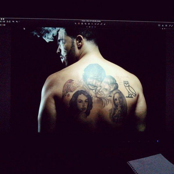 20 Facts About Drake You Didn T Know Until Now Drake Tattoos Back Tattoo Picture Tattoos