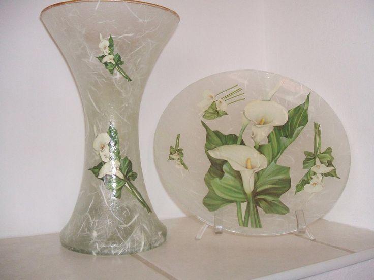 Kreatív termékek - Képgaléria - Üveg tárgyak - Vázák, tányérok, kínálók