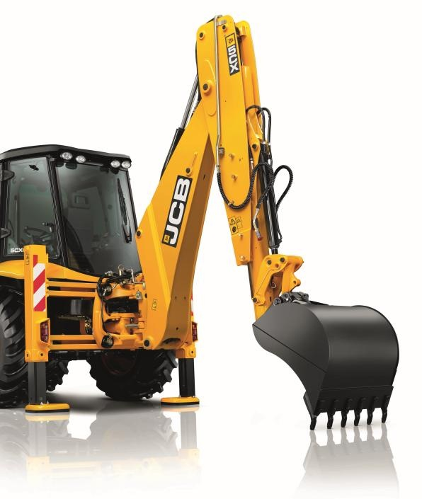 Jcb 5cx Ecodig Hydraulic System Backhoes And Excavator