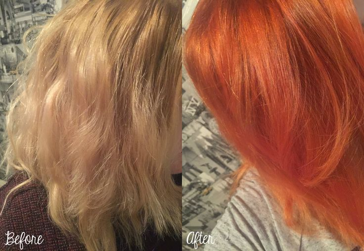 Before & After Garner Olia 7.40 Intense Copper