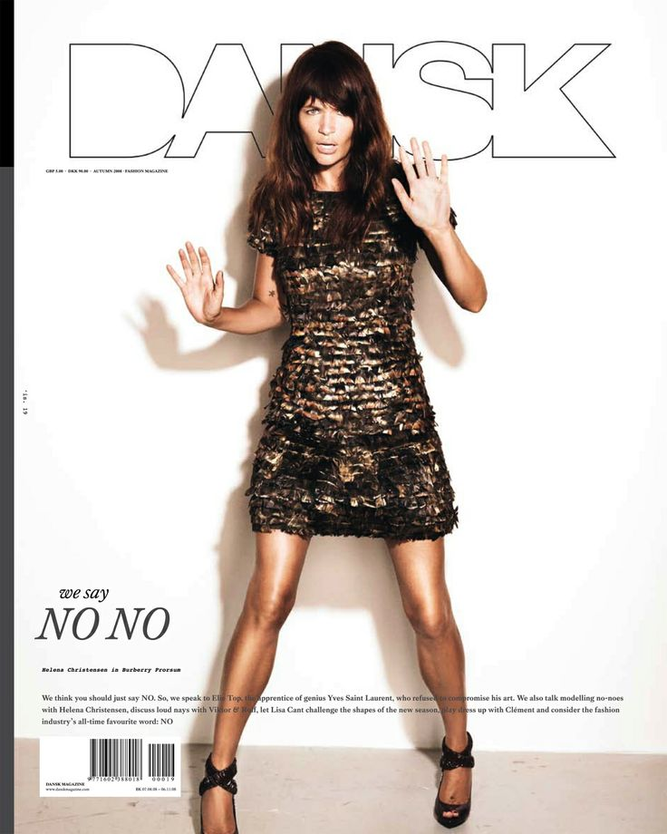 DANSK 19 - WE SAY NO NO edition #19  autumn 2008