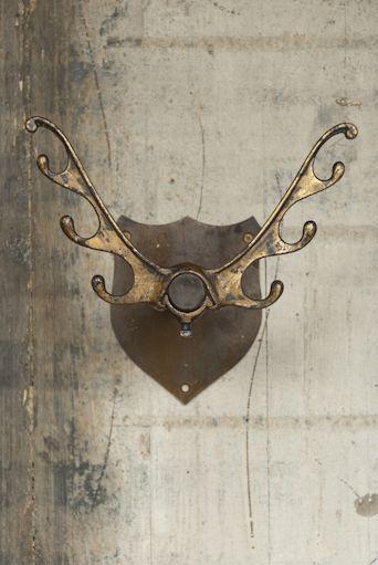 Retrouvius Reclamation and Design - fab double antler hooks