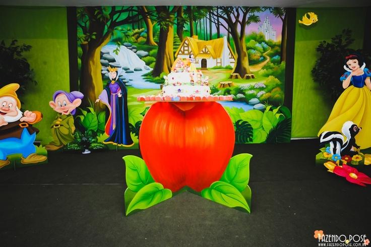 Branca de Neve. Empresa Fantasie Festas Infantis