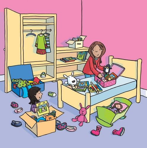 Sue King Illustration - sue king, digital, commercial, sweet, young, educational, novelty, activity, children, toddlers, girls, people,family, packing