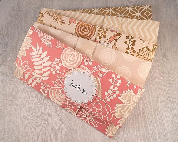 Cash Holder Envelopes Handmade Personalized Sweet Six Money Card Birthday Wedding Gift Envelope