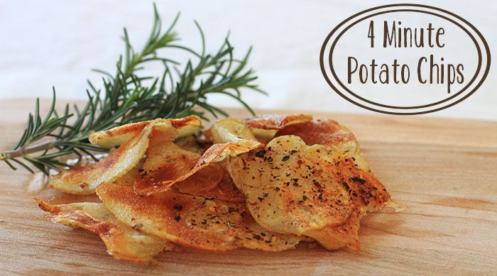 How to Make Microwave Potato Chips