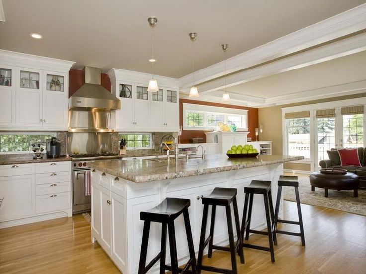 Beautify Your Kitchen Island with Seating Using Matching Kitchen Chairs - http://www.mbabayarea.com/beautify-your-kitchen-island-with-seating-using-matching-kitchen-chairs/