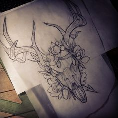 traditional deer tattoos - Google Search