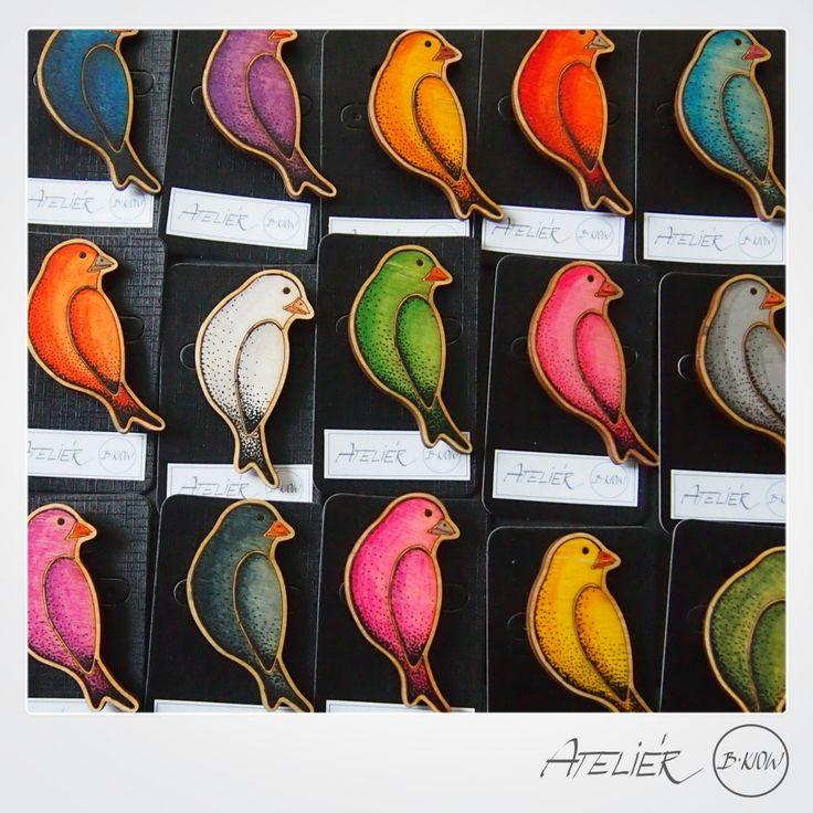ptačí brože | Ateliér B. KIOW