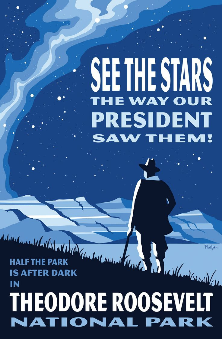 theodore roosevelt national park poster - Google Search