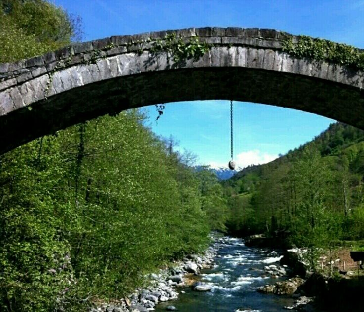 Bridge-Çaglayan bridge-Constructive: Unknown-Built year: 19th century-Repair: Unknown-Repair year: 1924-Çagkayan village-Fındıklı-Rize