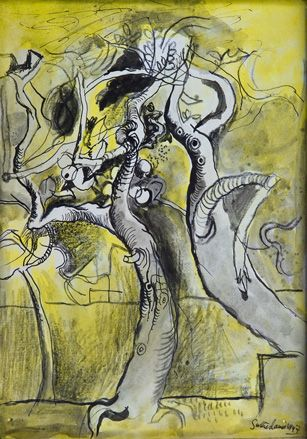 Graham Sutherland show at Modern Art Oxford, UK | Art | 'Two Trees' 1947