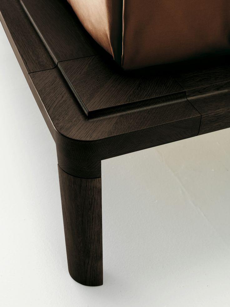 WOODEN DOUBLE BED COMODÀ COLLECTION BY ECO&CO | DESIGN ALBERTO COLLOVATI